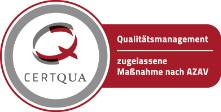 CERTQUA-Zertifizierung nach ISO 9001, ISO 29990 und AZAV