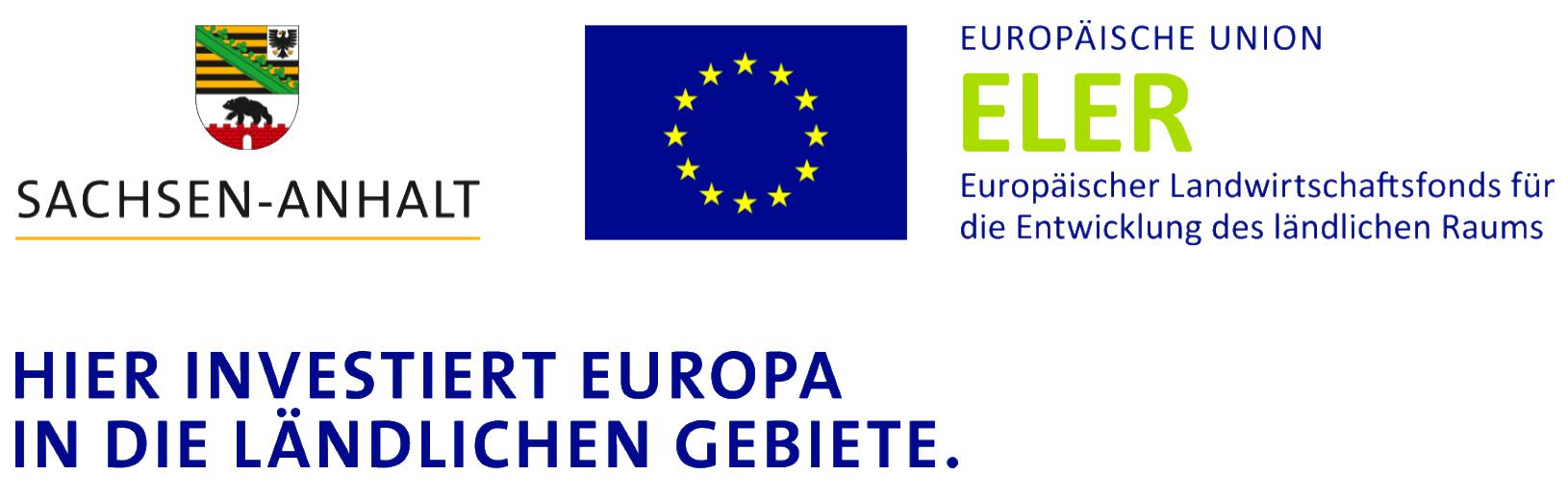 Signet-Paar, Sachsen-Anhalt, EU, ELER